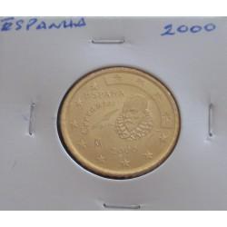 Espanha - 50 Centimos - 2000