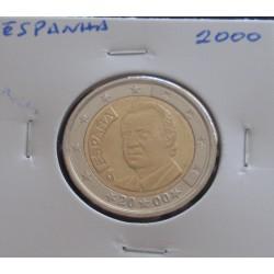 Espanha - 2 Euro - 2000
