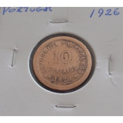 Portugal - 10 Centavos - 1926