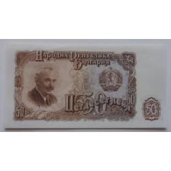 Bulgária - 50 Leva - 1951 -...