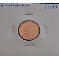 Finlândia - 1 Centimo - 1999