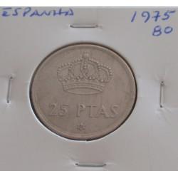 Espanha - 25 Pesetas - 1975-80