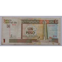 Cuba - 1 Pesos Convertibles...