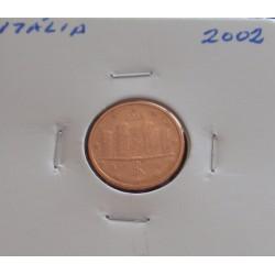Itália - 1 Centimo - 2002