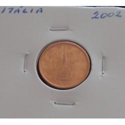 Itália - 2 Centimos - 2002