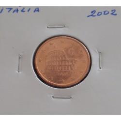 Itália - 5 Centimos - 2002
