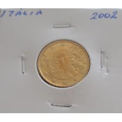 Itália - 10 Centimos - 2002