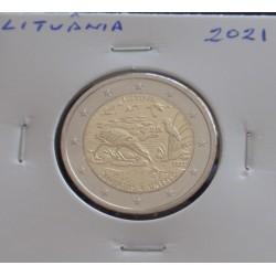 Lituânia - 2 Euro - 2021 -...