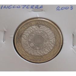 Inglaterra - 2 Pounds - 2003