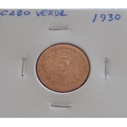 Cabo Verde - 5 Centavos - 1930