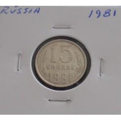Rússia - 15 Kopeks - 1981