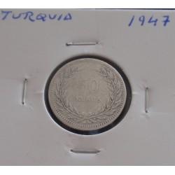 Turquia - 50 Kurus - 1947