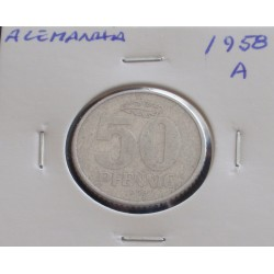 Alemanha - 50 Pfennig - 1958 A