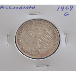 Alemanha - 2 Mark - 1969 G...