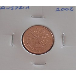 Áustria - 2 Centimos - 2002