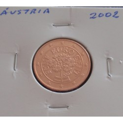 Áustria - 5 Centimos - 2002