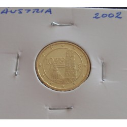 Áustria - 10 Centimos - 2002