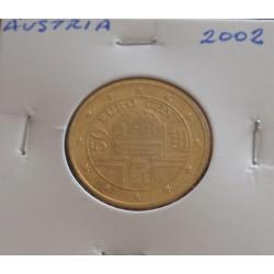 Áustria - 50 Centimos - 2002