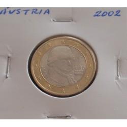 Áustria - 1 Euro - 2002