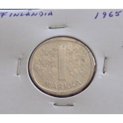 Finlândia - 1 Markka - 1965...
