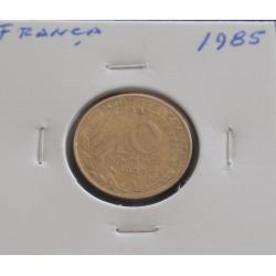 França - 10 Centimes - 1985