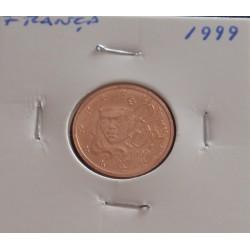 França - 2 Centimos - 1999