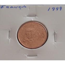 França - 5 Centimos - 1999