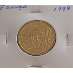 França - 50 Centimos - 1999