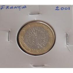 França - 1 Euro - 2001