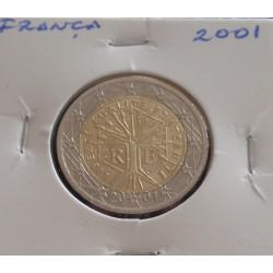 França - 2 Euro - 2001