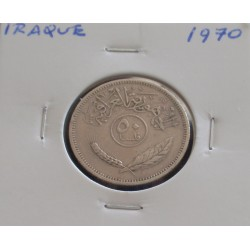 Iraque - 50 Fils - 1970
