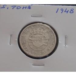 S. Tomé - 50 Centavos - 1948