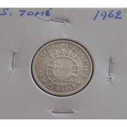 S. Tomé - 5 Escudos - 1962...