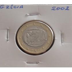Grécia - 1 Euro - 2002