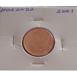 Holanda - 2 Centimos - 2001