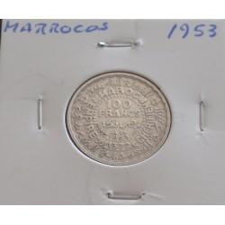 Marrocos - 100 Francs -...