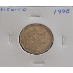 México - 50 Centavos - 1998
