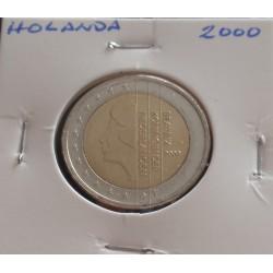 Holanda - 2 Euro - 2000