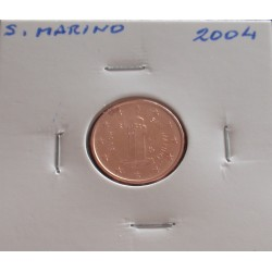 S. Marino - 1 Centimo - 2004