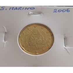 S. Marino - 20 Centimos - 2006