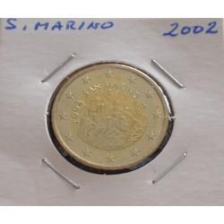 S. Marino - 50 Centimos - 2002