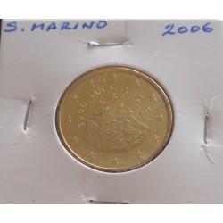 S. Marino - 50 Centimos - 2006