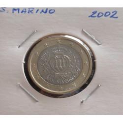 S. Marino - 1 Euro - 2002