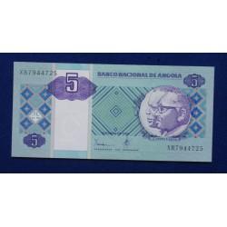 Angola - 5 Kwanzas - 1999 -...