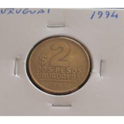 Uruguai - 2 Pesos - 1994