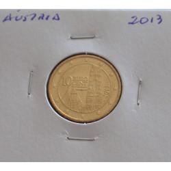 Áustria - 10 Centimos - 2013