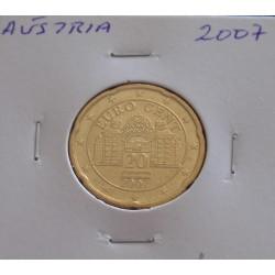 Áustria - 20 Centimos - 2007