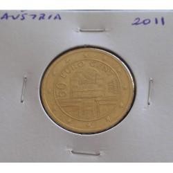 Áustria - 50 Centimos - 2011