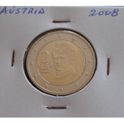 Áustria - 2 Euro - 2008