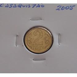 Casaquistão - 2 Tenge - 2005